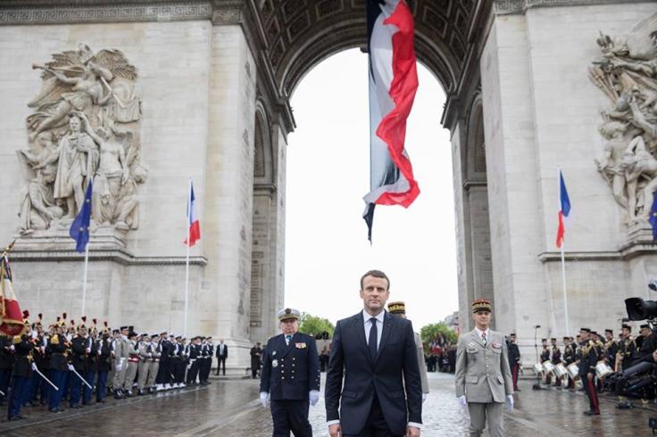 Macron-triomphe